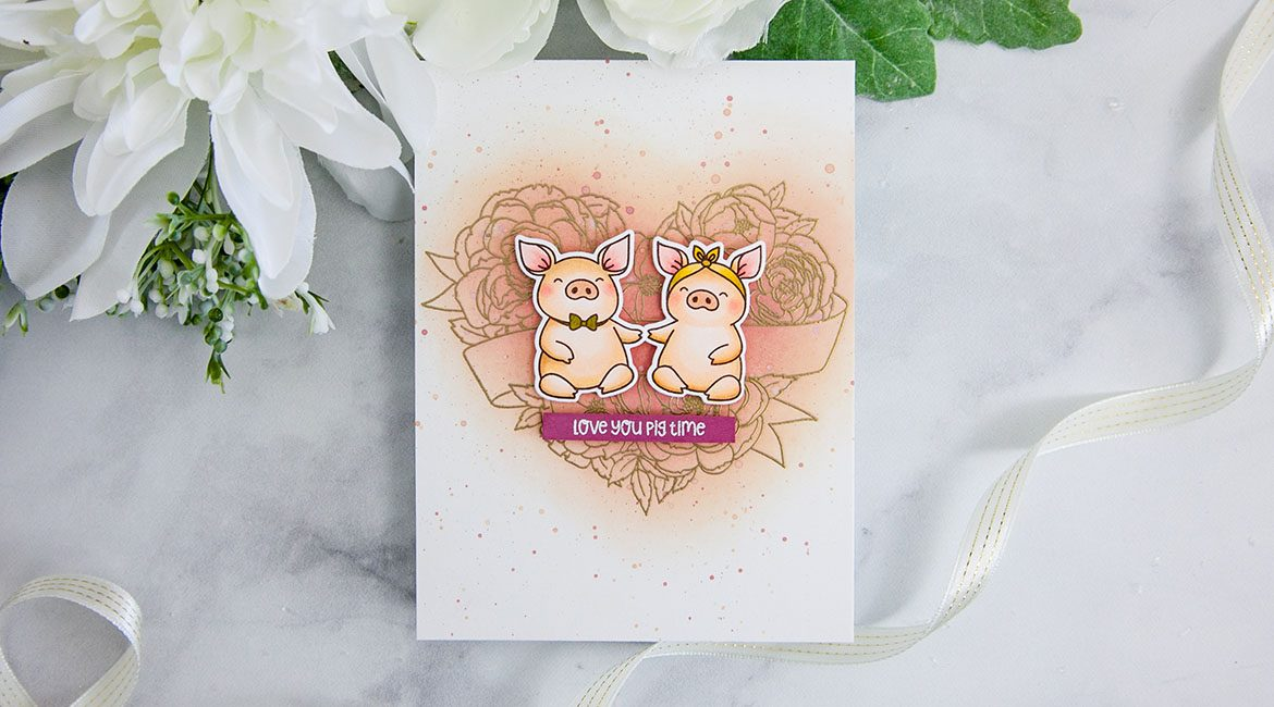 ME Stamp Highlight: Hogs and Kisses