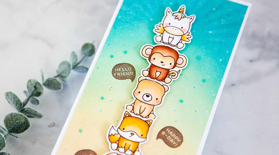 Mama Elephant Stamp Highlight: Stackable Cuties