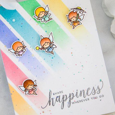 Mama Elephant Stamp Highlight: Little Fairy Agenda