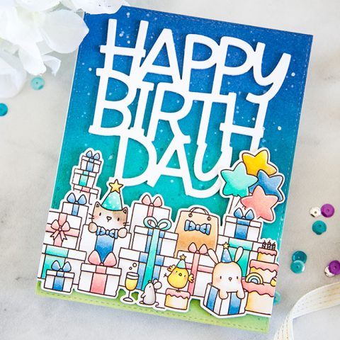 Mama Elephant Stamp Highlight: The Birthday Bash