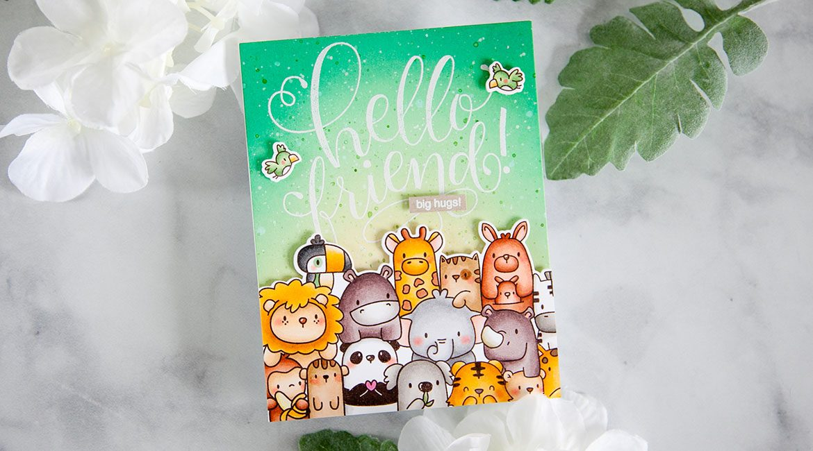 Mama Elephant Stamp Highlight: The Wild Roar