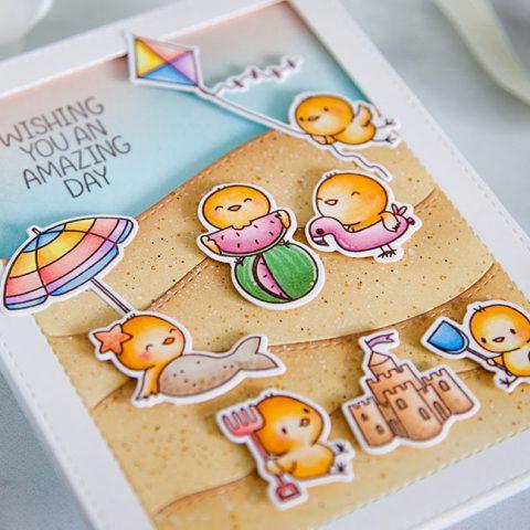 Mama Elephant Stamp Highlight: Beach Chickies