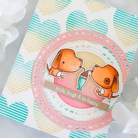 Reverse Confetti Smile, Laugh & Be Happy
