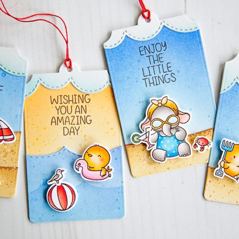 Mama Elephant Designer Series: Beach Chickies & Summer Splash