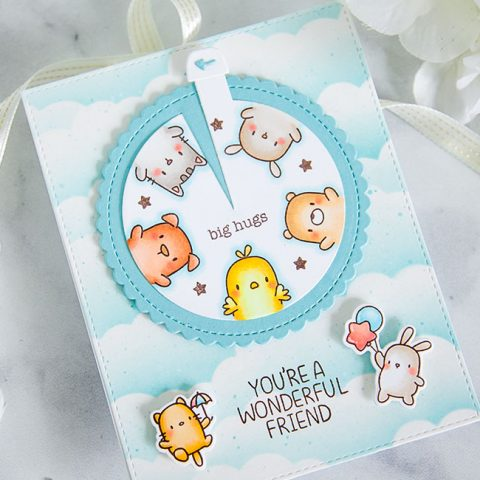 Mama Elephant Stamp Highlight: Circle of Friends