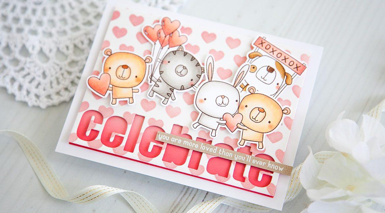 Reverse Confetti Celebrate Love