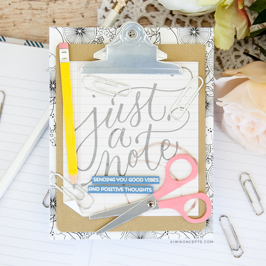 Spellbinders August Large Die of the Month – Kiwi Koncepts