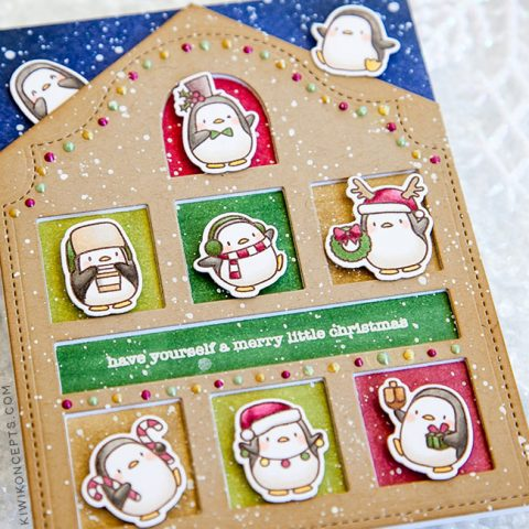 Mama Elephant Stamp Highlight: Little Penguin Agenda