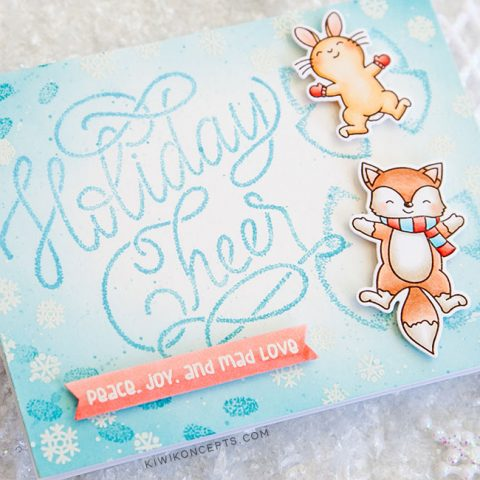 Mama Elephant Stamp Highlight: Snow Angels