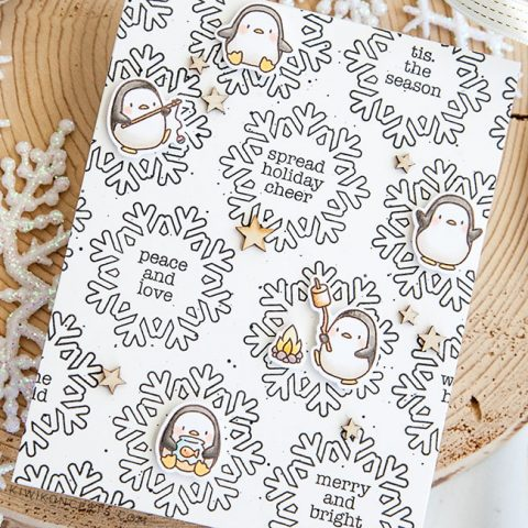 Mama Elephant Stamp Highlight: Mini Merry Messages