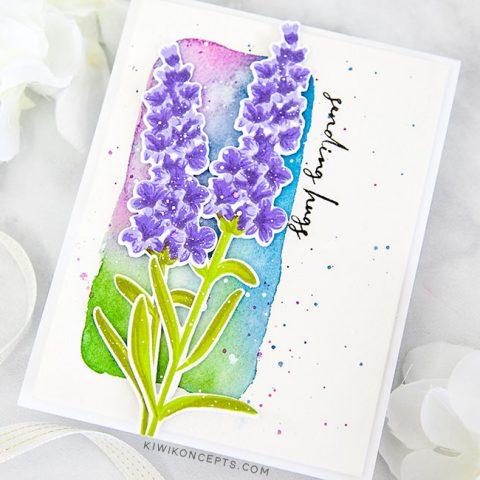 Altenew Build-A-Flower: Lavender Release Blog Hop