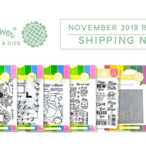 Waffle Flower November 2019 New Release Blog Hop + Giveaways