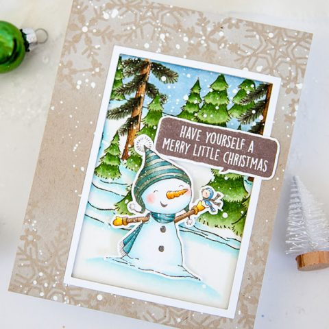 Purple Onion Designs: A Snowy Day with Bianca & Neve