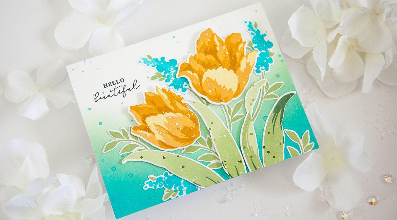 Altenew Build-A-Flower: Triumph Tulip Release Blog Hop