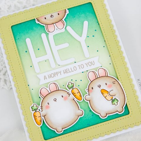 Mama Elephant Stamp Highlight: Zodiac Rabbit
