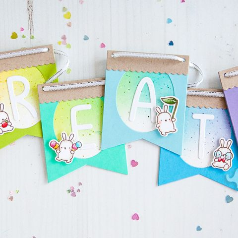 Mama Elephant Designer Series: Build-A-Banner Pennant