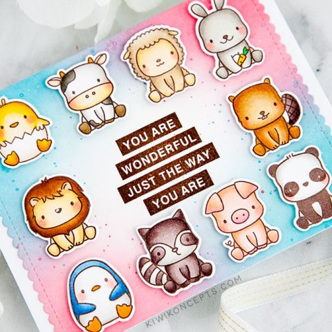 Mama Elephant Stamp Highlight: Stackable Friends
