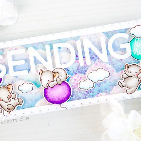 Mama Elephant Designer Series: Shakin' Things Up with Slim Card Basics