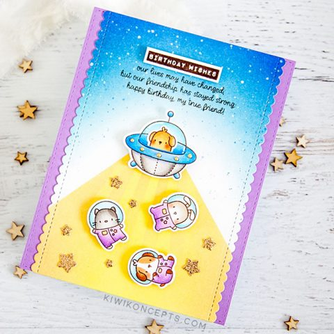 Mama Elephant Stamp Highlight: Inside Birthday Messages