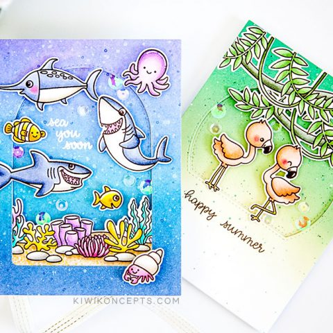 Sunny Studio Stamps: Tropical Scenes