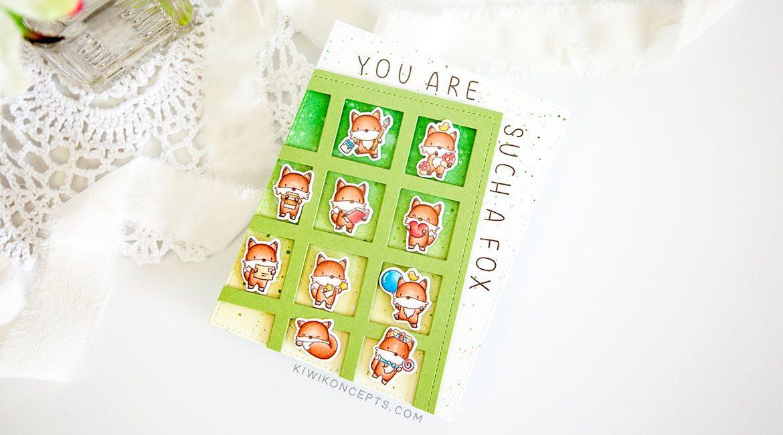 Mama Elephant Stamp Highlight: Little Fox Agenda