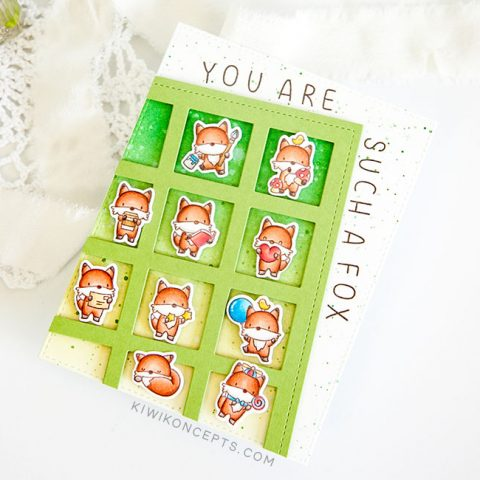 Mama Elephant Stamp Highlight: Little Fox Agenda