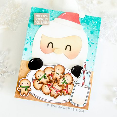 Mama Elephant Stamp Highlight: Gingerbread Cookies