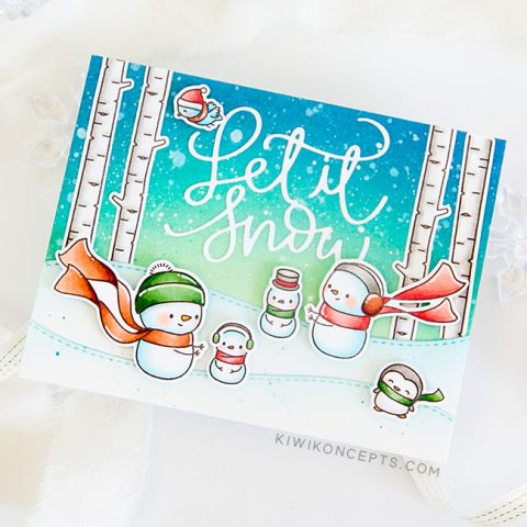 Mama Elephant Stamp Highlight: Let It Snow