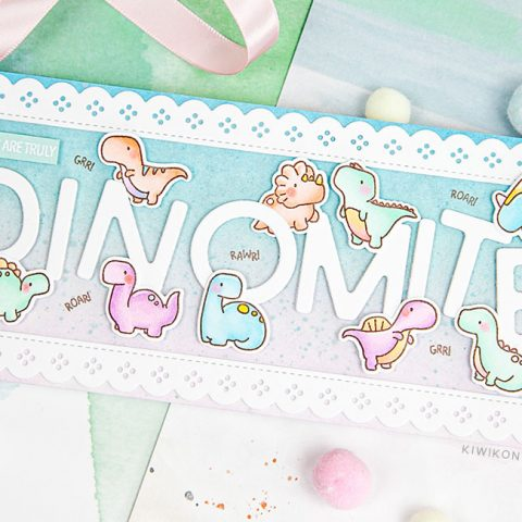 Mama Elephant Stamp Highlight: Little Dino Agenda