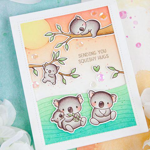 Mama Elephant Stamp Highlight: Koala Hugs