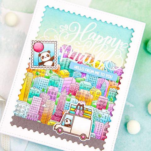Mama Elephant Stamp Highlight: Urban City