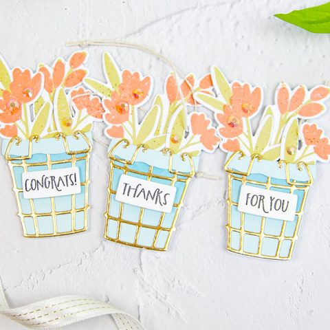 The Greetery TGIF: Flower Basket Tags