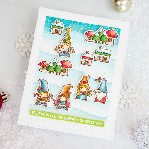 Mama Elephant Stamp Highlight: Easy Xmas Greetings