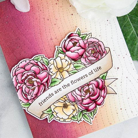 ME Stamp Highlight: Heart in Bloom