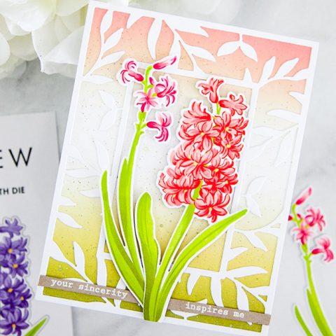 Altenew Build-A-Flower: Hyacinth Release Blog Hop + Giveaways