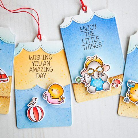 Mama Elephant Designer Series: Beach Chickies & Summer Splash