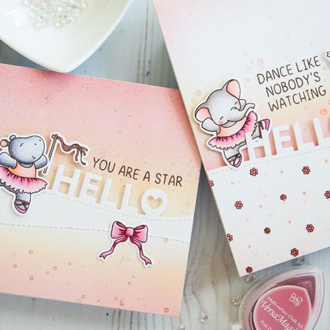 Mama Elephant Stamp Highlight: Shall We Dance