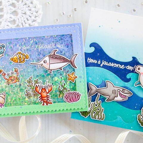 Sunny Studio Stamps Make A Splash