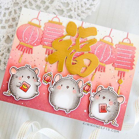Mama Elephant Stamp Highlight: Zodiac Mouse