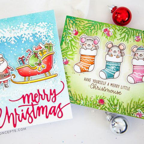 Sunny Studio Stamps A Merry Mice Holiday