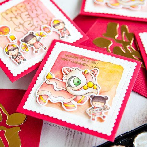 Mama Elephant Designer Series: Fortune Envelopes