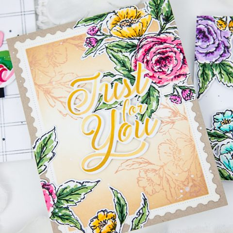 The Greetery: Sketching Roses with the Love Letters Collection
