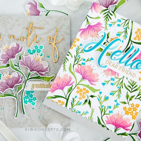 The Greetery: Fresh Floral Backgrounds