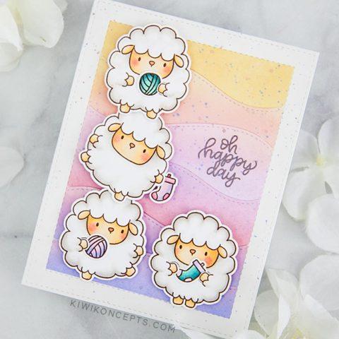 Mama Elephant Designer Series: Zodiac Sheep
