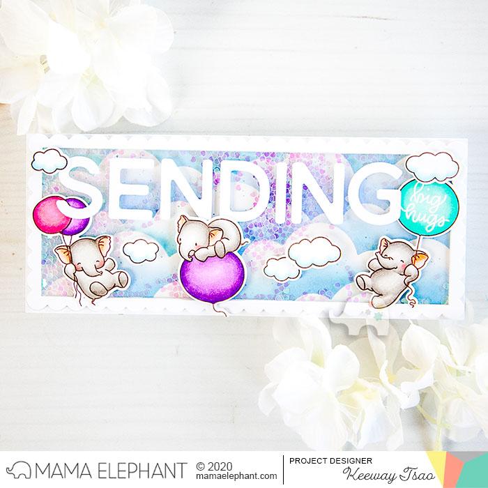 mama elephant | design blog: Slim Card Basics with Keeway
