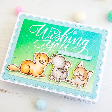 Mama Elephant Stamp Highlight: My Pet Puppies
