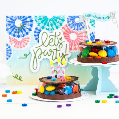 The Greetery: A Pinwheel Party with Cake