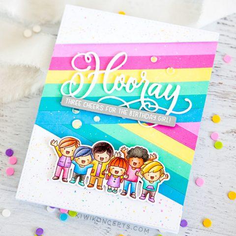 Mama Elephant Stamp Highlight: Hooray Wishes