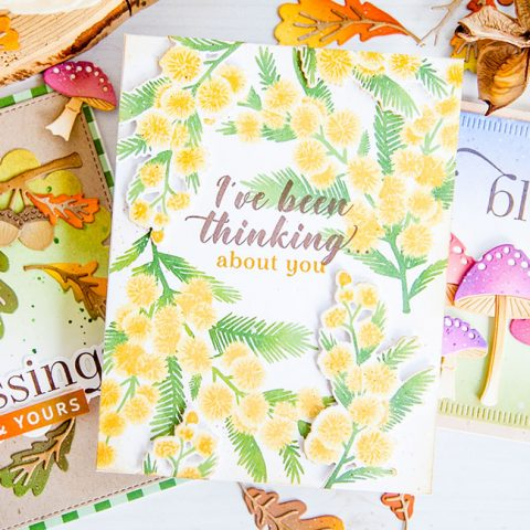 The Greetery: Autumn Bloom BotaniCuts