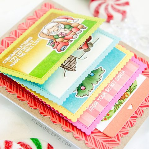 Mama Elephant Stamp Highlight: Santa Baby